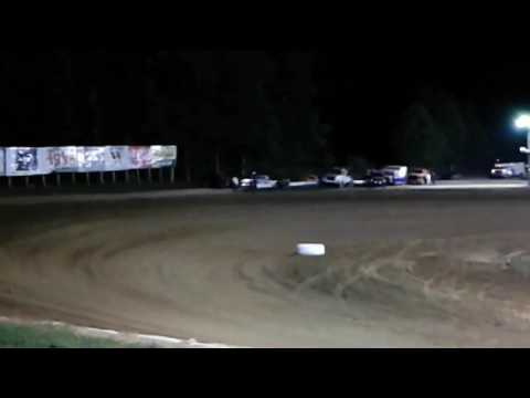 Indiana Saturday night dirt trackin @ Lincoln Park Speedway putnamville Indiana 6/24/17(1)