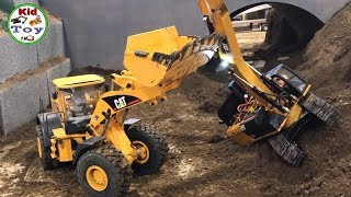 RC WHEELS LOADER HYDRAULIC || RC FRONTLOADER HYDRAULIC || RC EXCAVATOR GOT ACCIDENT