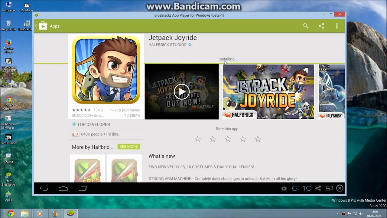 How to Install Jetpack Joyride on Pc Free