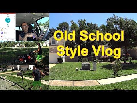 Grass Cutting Vlog - To Velke or Not to Velke - FitBit Demonstration #SideHustle