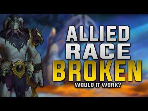 Allied Race - The Broken (Krokul) Would It Work ?   Customization, Gear, Faction & More