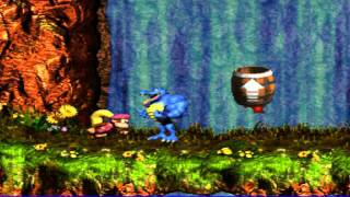 Best SMW Music 70 - Donkey Kong Country 3 - Cascade Capers