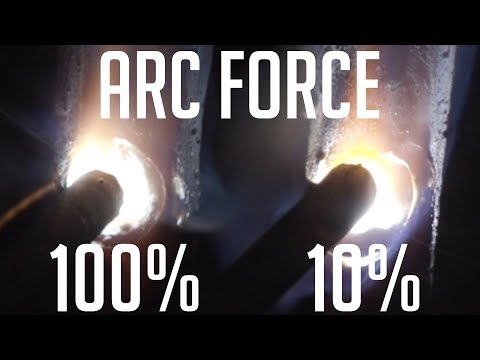 🔥What Does Arc Force (Dig) Actually Do?