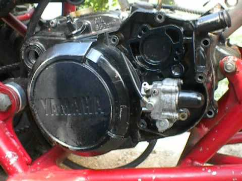 yamaha blaster clutch cover and oil pump  YouTube