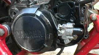 yamaha blaster clutch cover and oil pump