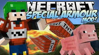 Minecraft | SPECIAL ARMOUR MOD! (Alvin