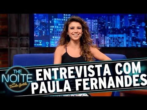 The Noite (09/12/15) - Entrevista com Paula Fernandes