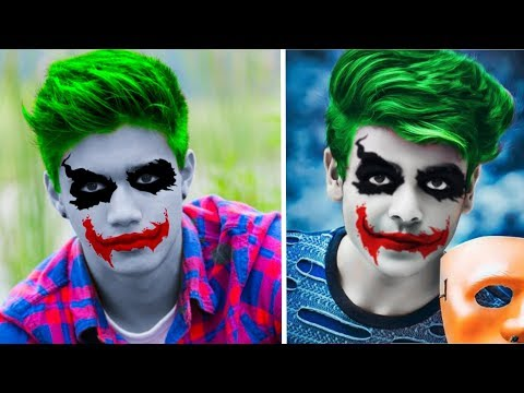 Joker Face Effect | Picsart Editing Tutorial | Picsart Photo Editing New