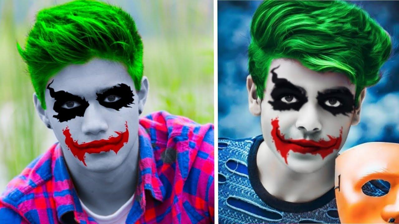 Joker Face Effect Picsart Editing Tutorial Picsart Photo Editing New