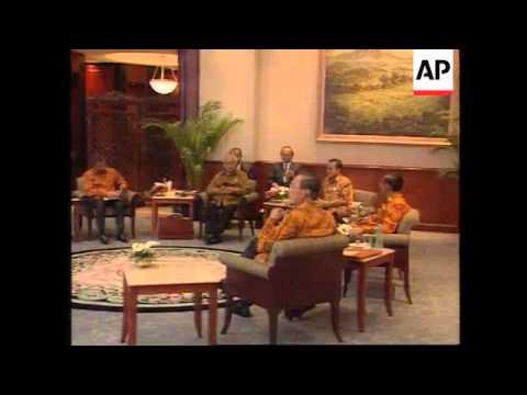 Indonesia-Talks on Burma