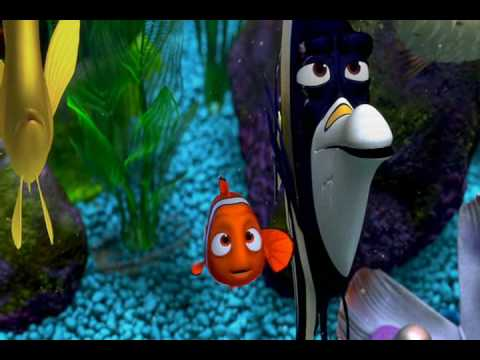 Little clownfish from the reef finding nemo youtube for Fish tank full movie