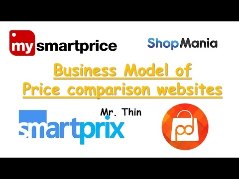 Business Model of Price Comparison Websites | My Smart Price | Price Dekho | Smart Prix etc.