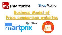 Business Model of Price Comparison Websites | My Smart Price | Price Dekho | Smart Prix etc.