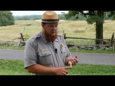 Cemetery Hill - Ranger Jim Flook