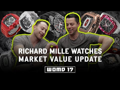 WOMD #17 Richard Mille Watches Market Value Update with a special guest