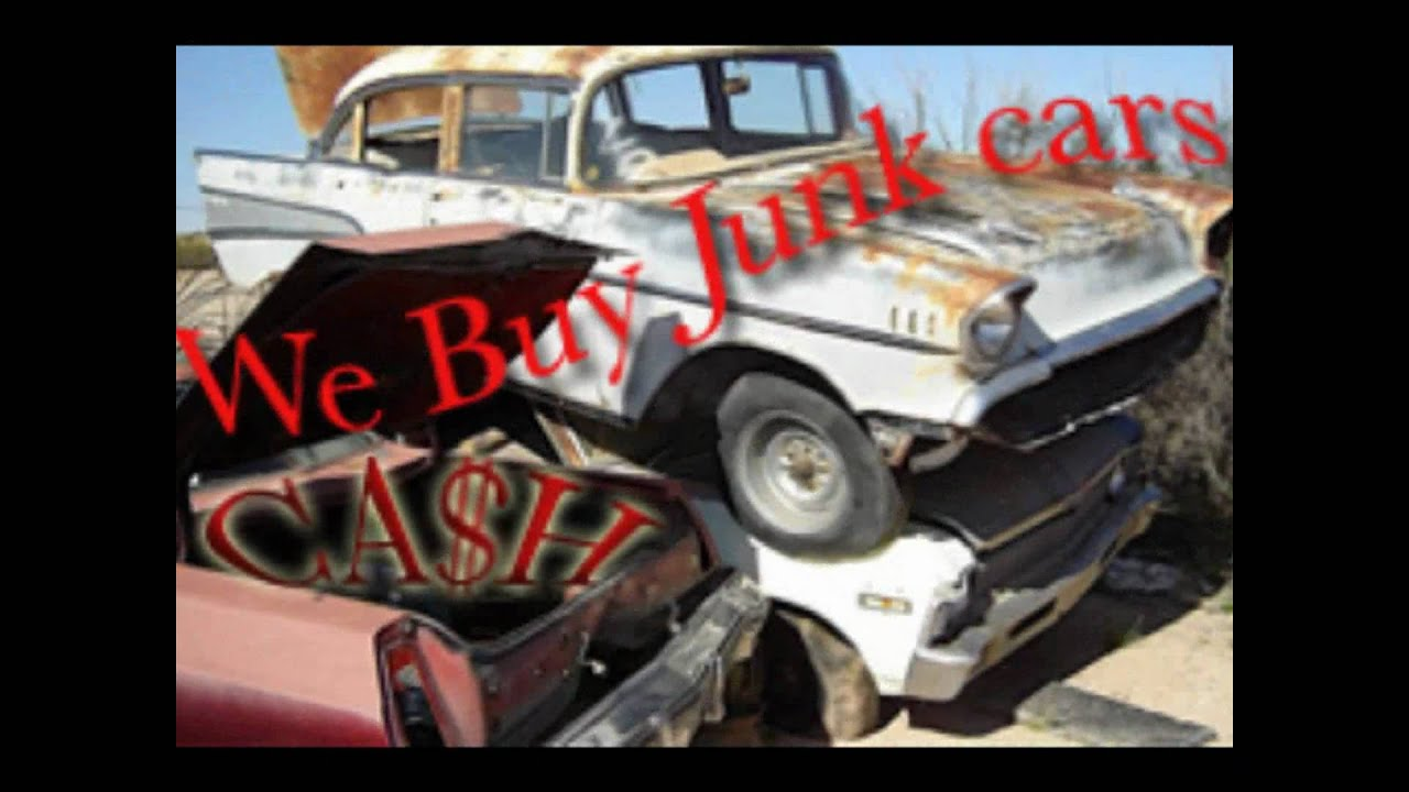 CASH$ for Junk My Car Tampa, St Petersburg, Clearwater - Call ...
