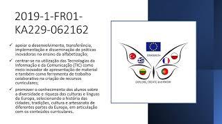 Apresentação síntese projetos europeus