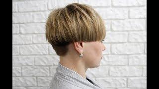 Современная женская короткая стрижка