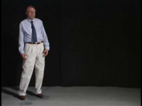 Abnormal Gait Exam : Ataxic Gait Demonstration - YouTube