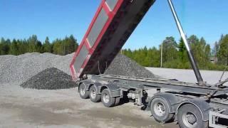 Gravel race to the Railrod construction