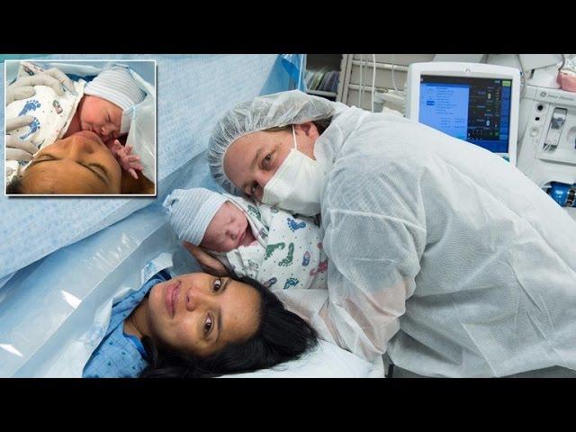 newborn sons emergency video - 640×480
