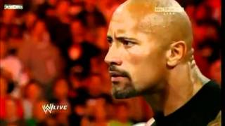 WWE Raw 11/14/11 - The Rock Returns [HQ] Part 2