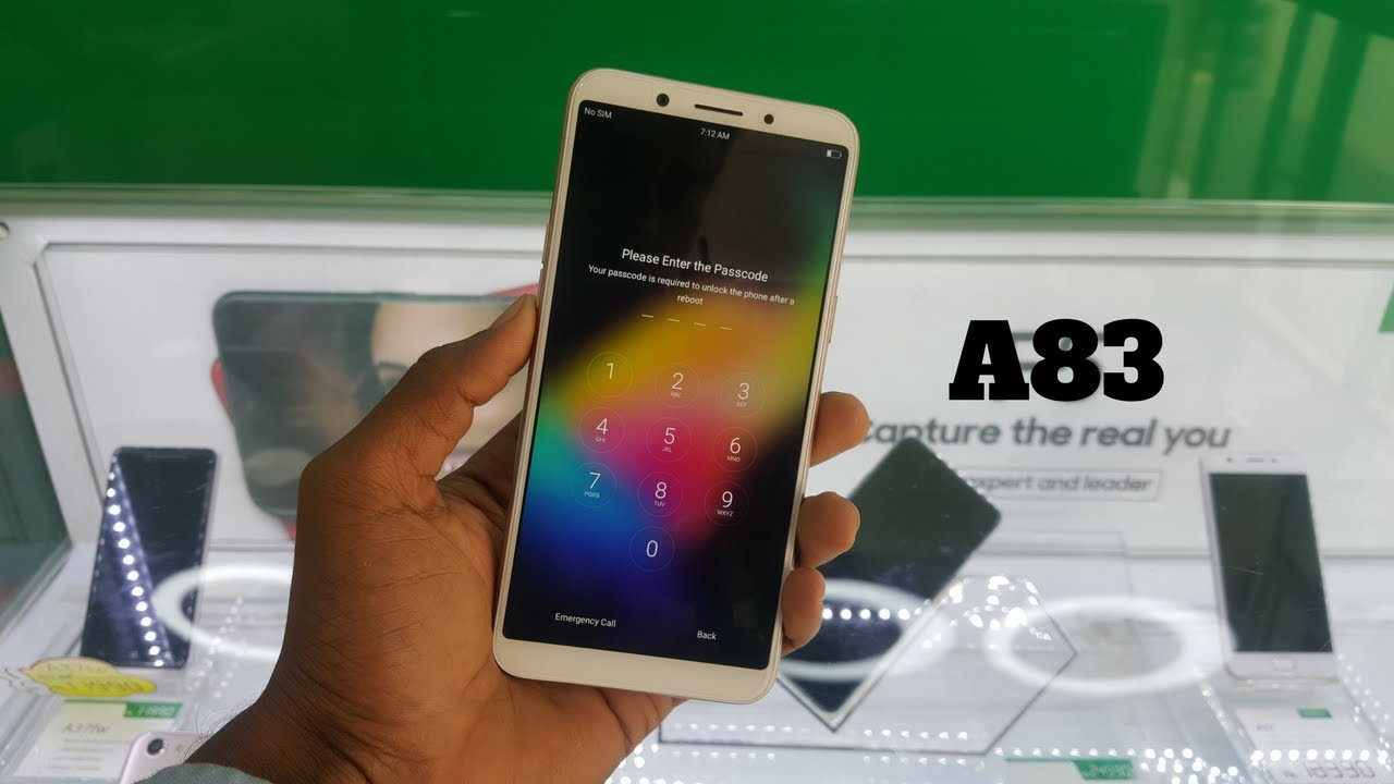 Oppo A83 Hard Reset