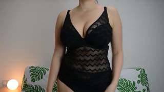 Curvy Kate Swimwear - High Voltage Tankini Black