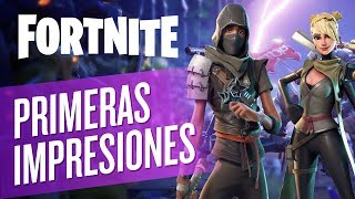 FORTNITE | ¡PRIMERAS IMPRESIONES! | GAMEPLAY ESPAÑOL