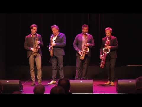 'Blues for a Hip King' - Artvark Saxophone Quartet
