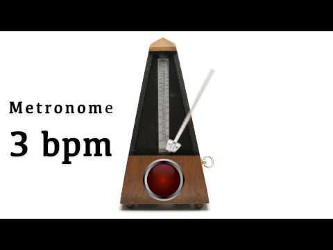 Metronome 3 bpm 🎼