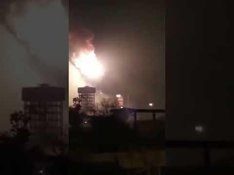 Burnpur IIsco steel plant fire accident 15/12/2017