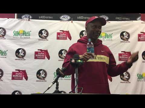 FSU head coach Willie Taggart on his team's loss at N.C. State, play of James Blackman and more