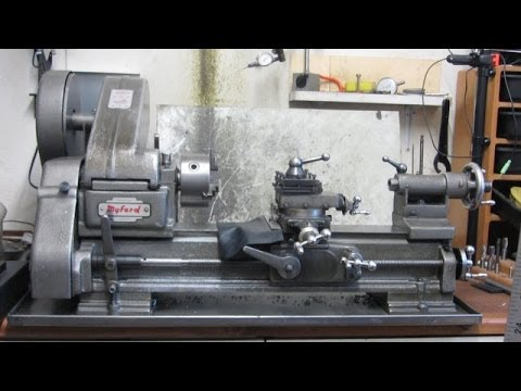 Metal Lathe For Sale >> The Myford ML10 Lathe - YouTube