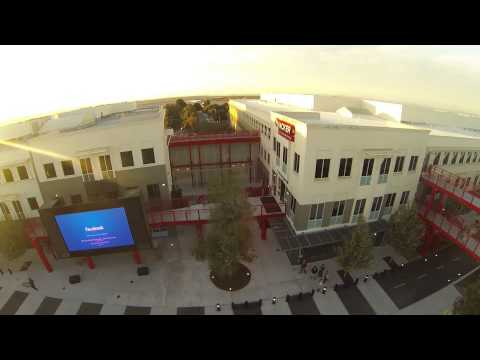Facebook Campus via Quadcopter