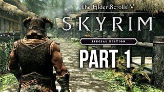 SKYRIM SPECIAL EDITION Gamęplay Walkthrough Part 1 - INTRO (SKYRIM Remastered)