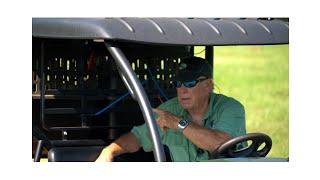 Beginning drive around marks with Bill Hillmann