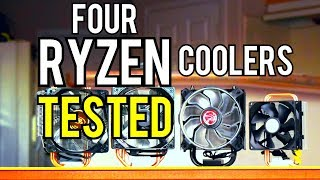 4 Budget AM4 Coolers Compared - Temps + Noise Tested!