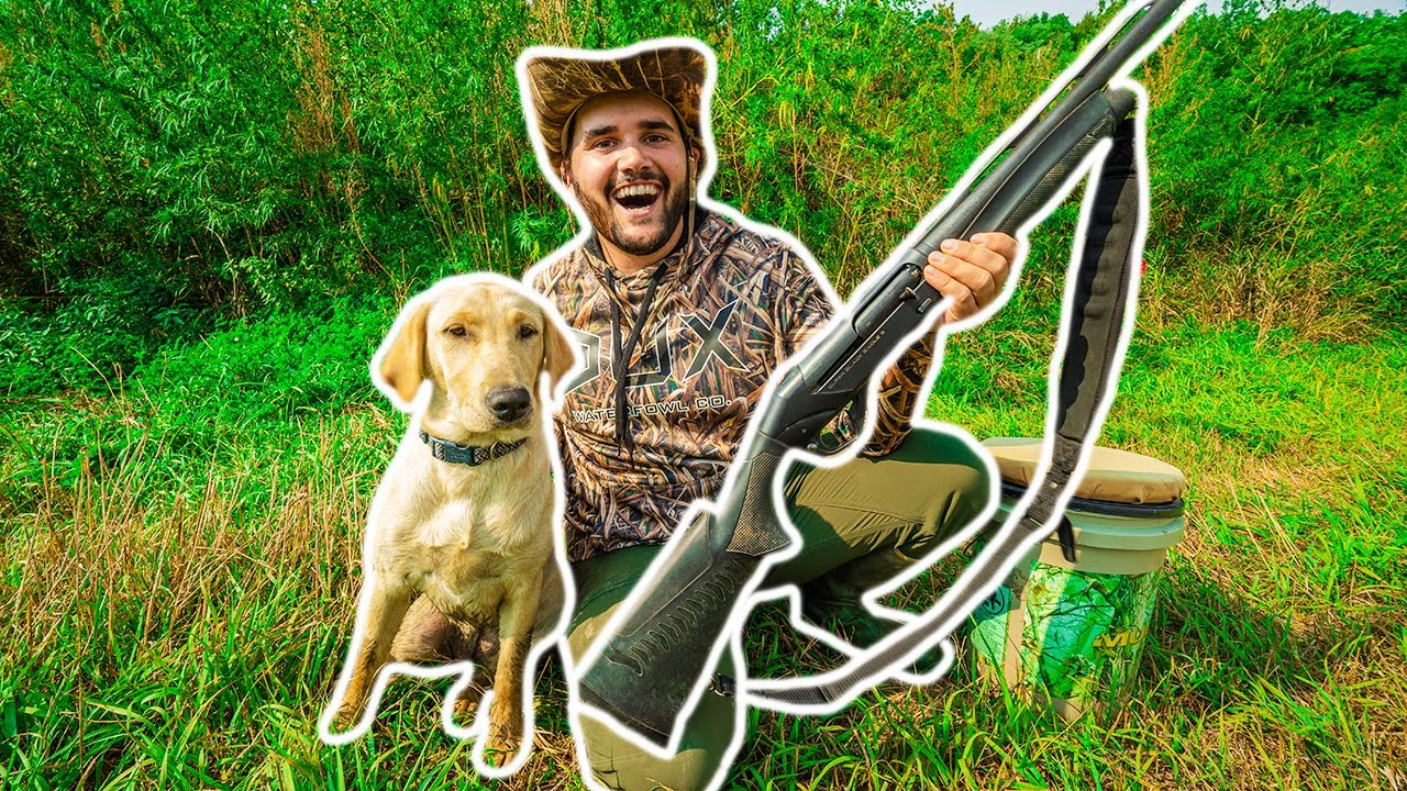 Taking My PUPPY HUNTING for the FIRST TIME!!! (Her First Retrieve)