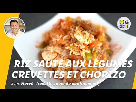 riz-sauté-aux-légumes,-crevettes-et-chorizo-|-lidl-cuisine