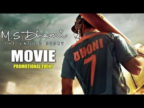 MS DHONI - The Untold Story Movie...