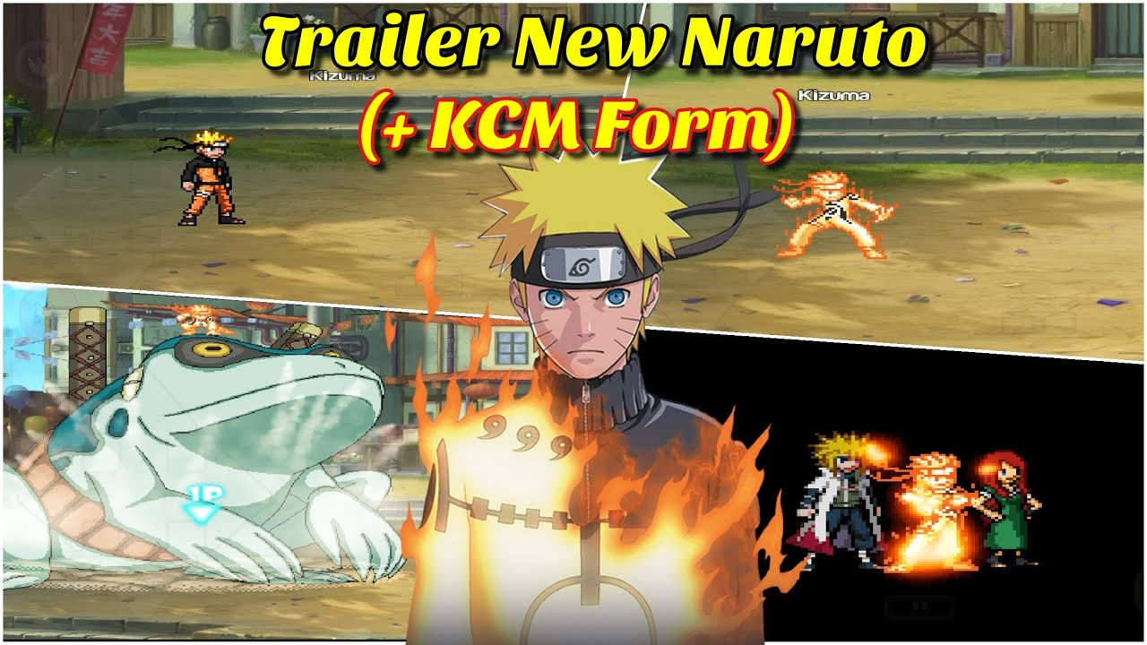 Trailer New Naruto Kcm Form Bleach Vs Naruto Mugen