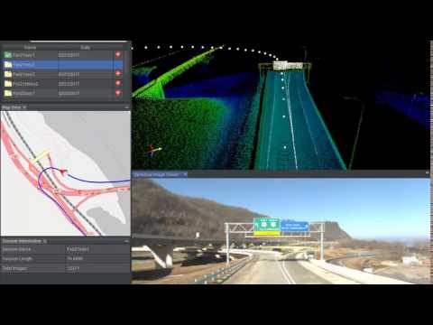 Statewide Asset Inventory with Mobile Lidar & Web-GIS