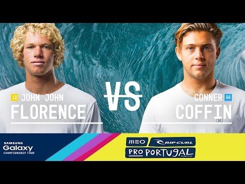 John John Florence vs. Conner Coffin - MEO Rip Curl Pro Portugal 2016 Final