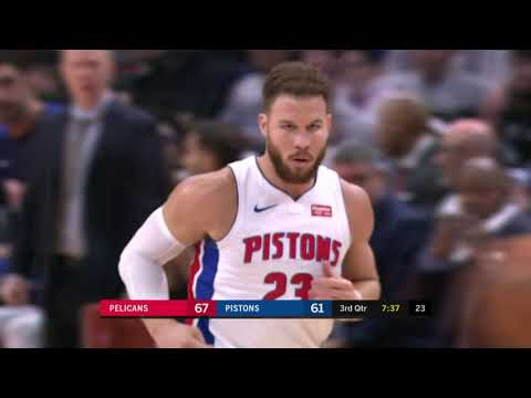 New Orleans Pelicans vs Detroit Pistons : December 9, 2018