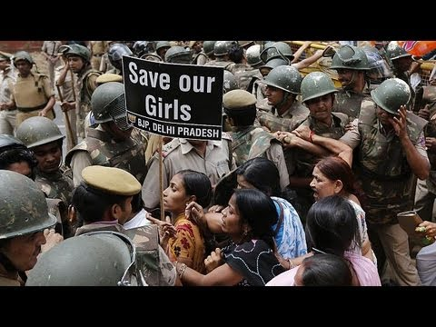 Rape and torture of girl sparks furious New Delhi protests
