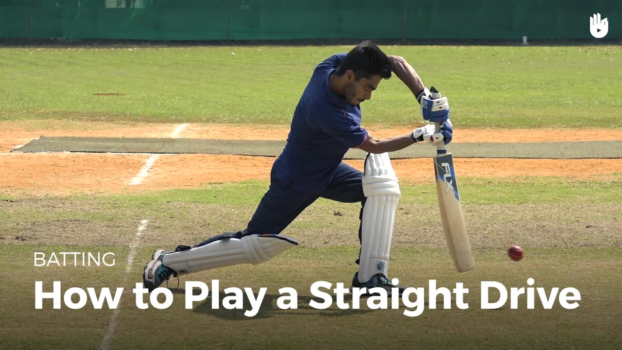 How to Play a Straight Drive | Cricket