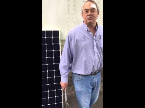 Grade B Solar Panels  -  John Kimball Sunelectronics 1/2
