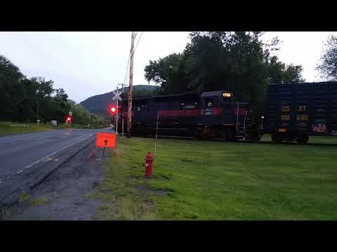 Pan Am Railway in Northampton MA by the Oxbow