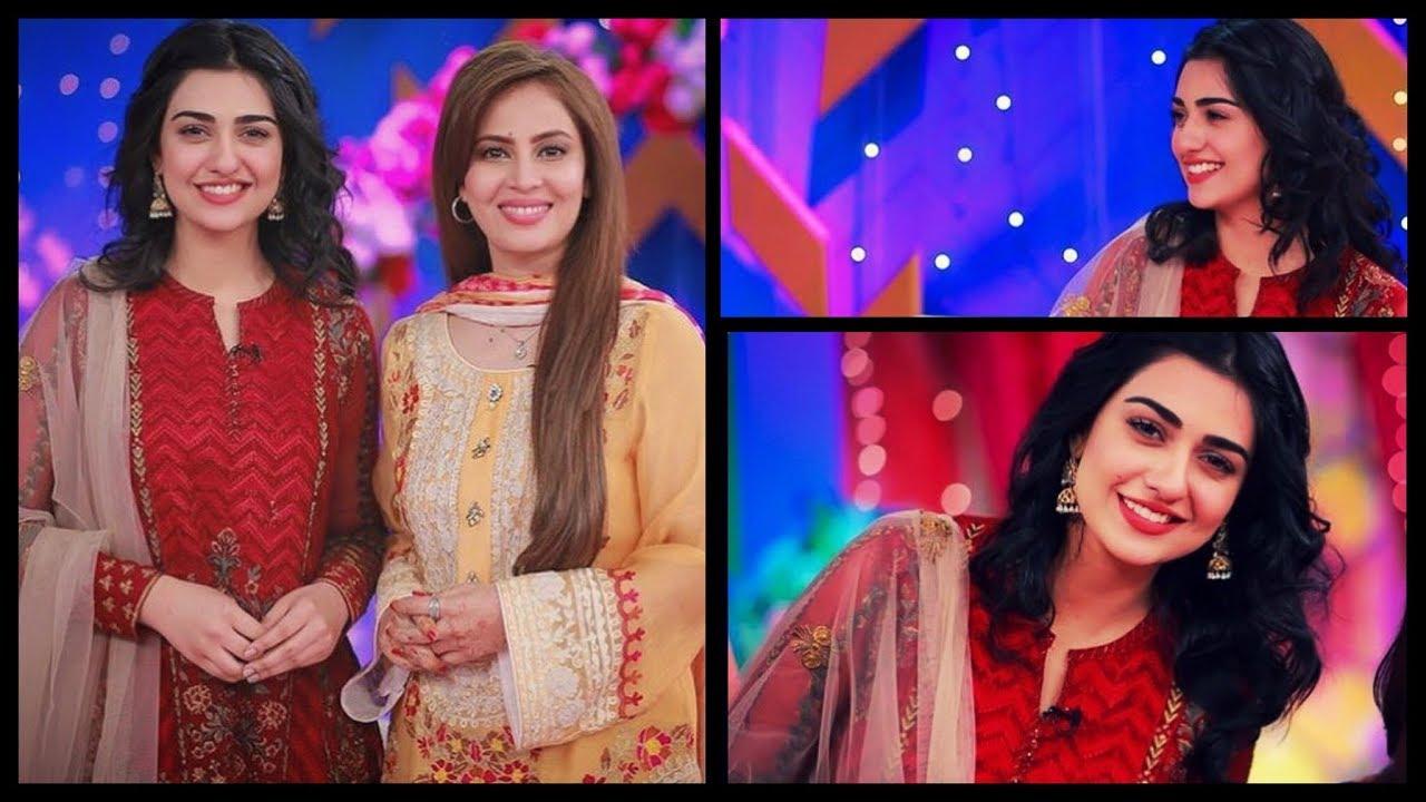Image result for sara khan in morning show of farah khan